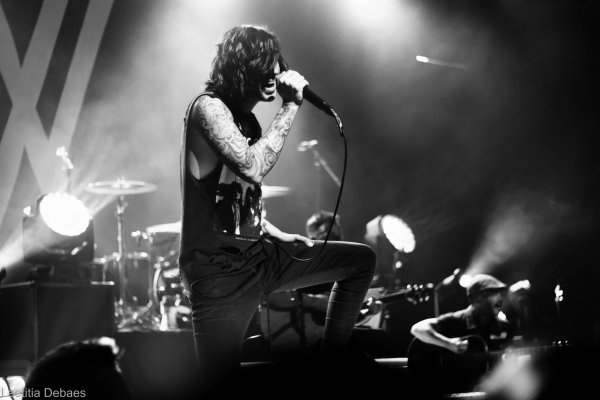 Sleeping with sirens + Pierce the veil ; trix antwerpen