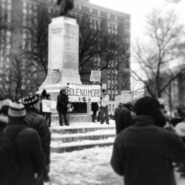 https://www.facebook.com/samianofficielle    Idle No More .. Montréal ! 21 décembre 2012