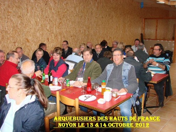 ** ARQUEBUSIERS des HAUTS de FRANCE A NOYON 13 & 14 OCTOBRE 2012 ** N°2 **