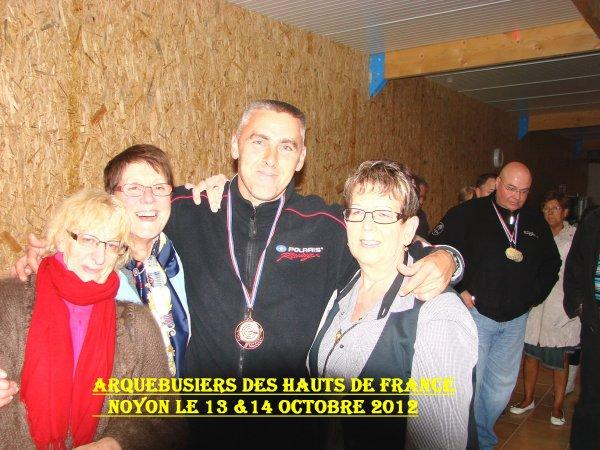 ** ARQUEBUSIERS des HAUTS de FRANCE A NOYON 13 & 14 OCTOBRE 2012 ** N°3 **