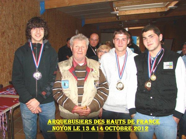 ** ARQUEBUSIERS des HAUTS de FRANCE A NOYON 13 & 14 OCTOBRE 2012 ** N°4 **