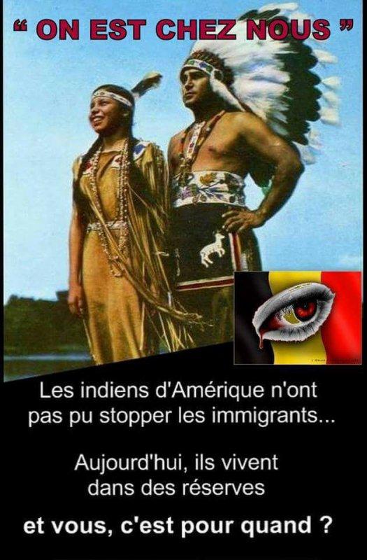 ***  DE BEAUX INDIENS & D'INDIENNES D'AMERIQUE SUITE  ***