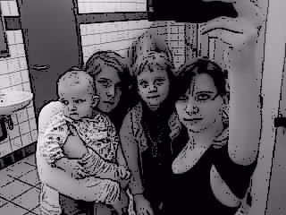 Lisa, Kelissa , Alicia & Moi