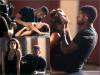 """. ON SET 30.08.11 : Usher sur le plateau du vidéo clip """"Promise"""" de l'artiste Romeo Santos. ."""