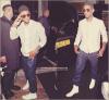 . CANDIDS 12.06.12 : Arrivée de Usher au Arts Club de Londres.  .