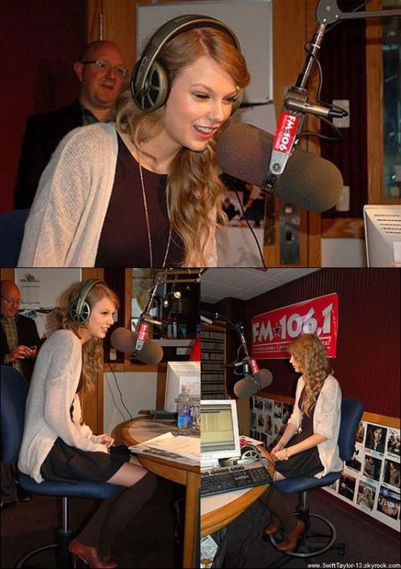 13 Octobre 2010 - Taylor est à la radio FM 106.1 à Milwaukee pour discuter de différentes choses, comme son appartement et son nouvel album. (Partie 1 - Partie 2 - Partie 3). Interview de Taylor pour la Radio 105 quand elle était en Italie il y a quelques semaines. Elle a parlé de son nouvel album, sa tournée mondiale...