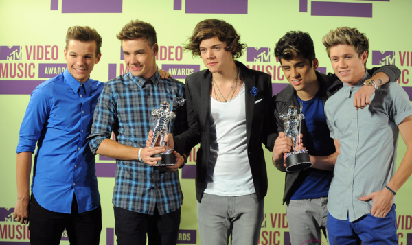 One direction Mtv vidéo music award 2013