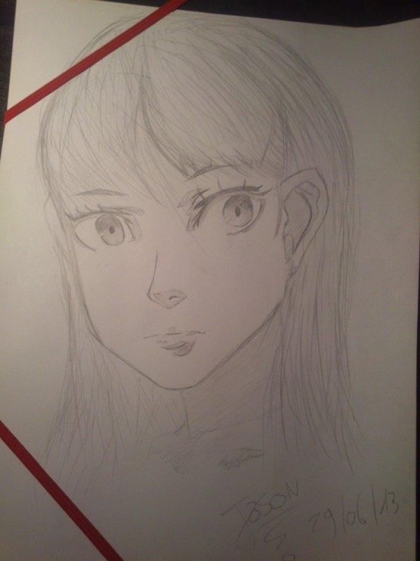 dessin en cours.