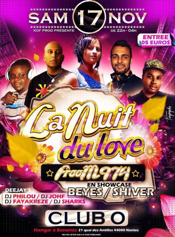 LA NUIT DU LOVE 974