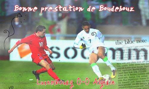 Matchs Boudeybouz