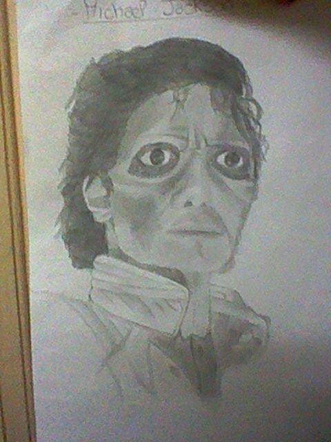 "Mon dessin de ""Thriller"""