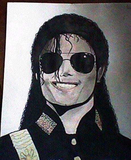 Mon dessin de Michael Jackson