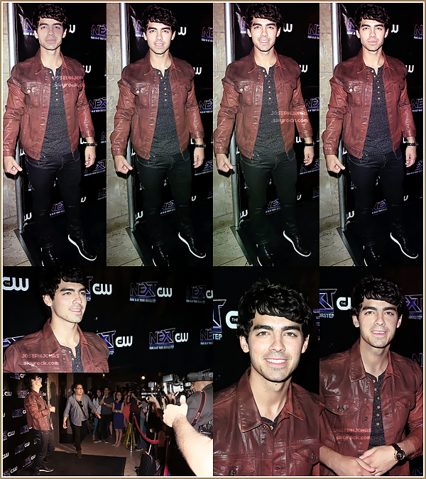 14 Août 2012  :  Joseph a donné une interview sur le plateau de Young Hollywood à Los Angeles.