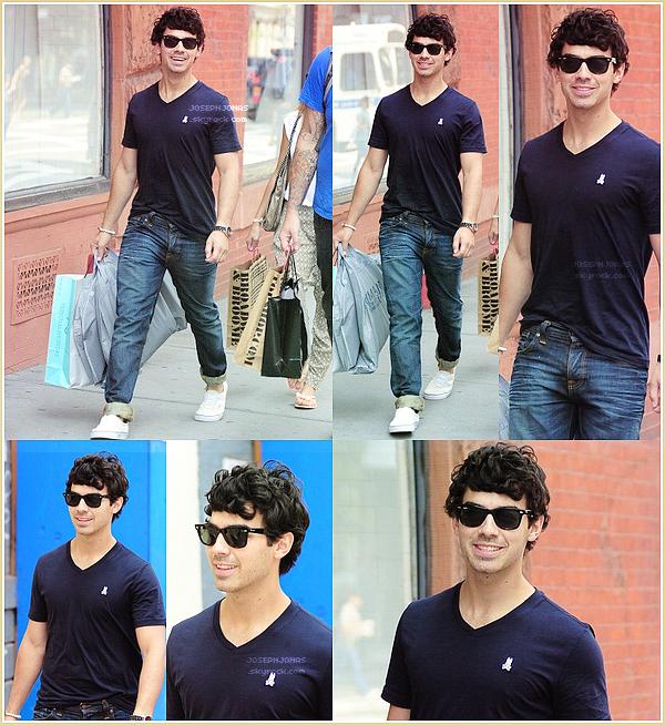 16 Août 2012  :  Joseph a été aperçu prenant un avion à l'aéroport LAX de Los Angeles.