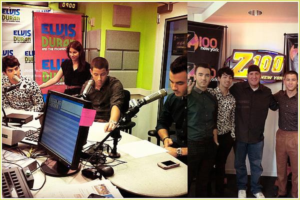 20 Août 2012  :  Pour le retour des Jonas Brothers, ils ont été vu se rendant au Today Show, NY.