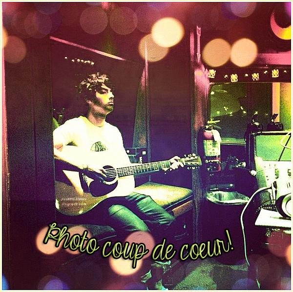 25 au 31 Août 2012  :  Joe, Nick et Kevin ont passés la semaine au studio,  Los Angeles.