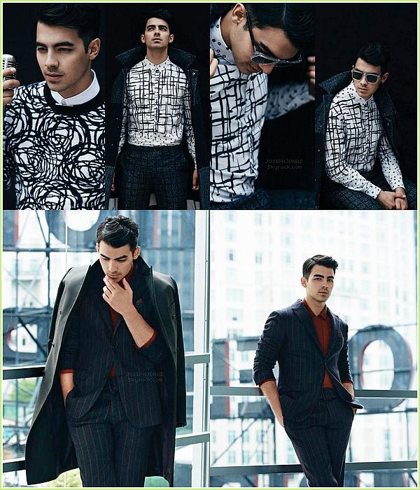 Photoshoot  :  Joseph a posé devant l'objectif de Karl Simone pour le magazine August Man Malaysia.