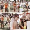 Le célèbre Coachella Valley Music and Arts Festival s'est tenue à Indio,Californie les 15, 16 et 17 Avril 2011 ! Tout comme pleins de célébrités (Penn Badgley (Gossip Girl), Ian Somerhalder, Nina Dobrev (TVD), Jessica Stroup (90210)....) Vanessa s'y est rendu avec des amis & son nouveau boyfriend Josh Hutcherson. Elle nous a affiché un look très hippie, j'aime beaucoup. Le samedi 16 avril elle était au A/X Armani Exchange Neon Carnival.