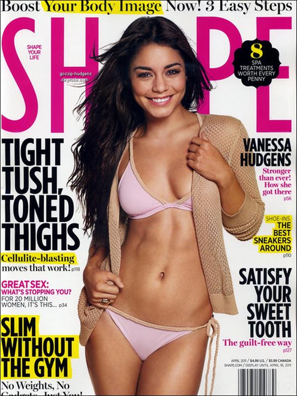 Vanessa fait la couverure du numéro de Mai du magazine Bliss, elle y parle de beauté, de sa romance avec Zac & fait des confidences; mais aussi la couverture de Nylon et de Shape. Et pour finir, elle apparaît dans le Ok! Magazine du 28 Mars-5 Avril •