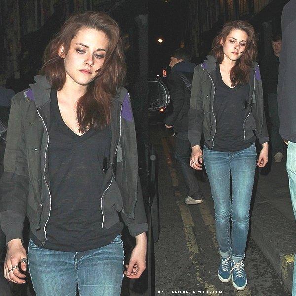 ›ACTUALITÉ. 8 juin 2011______________________Kristen a été aperçue hier dans les rues de Londres.