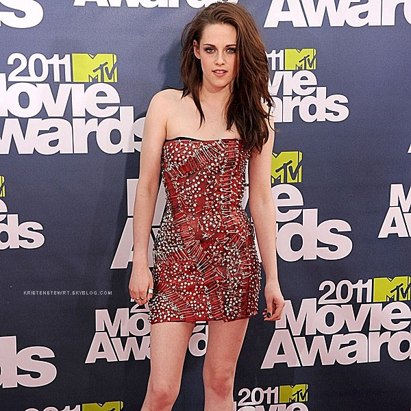 6 Juin 2011, MTV Movie Awards - Arrivées.