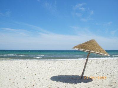la plage de la tunisie