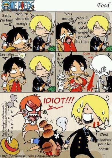 Luffy, prêt à tout pour manger