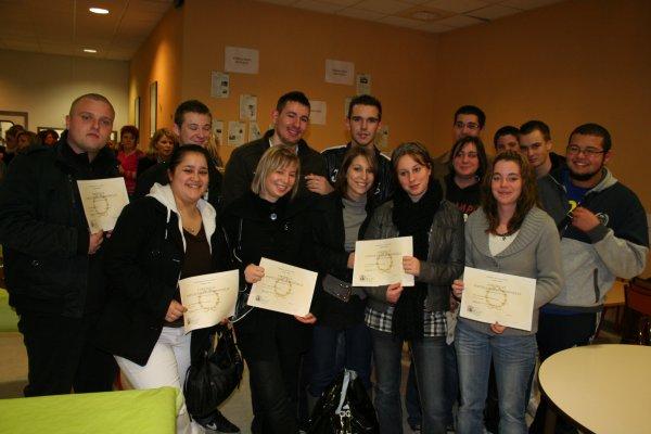 Remise des diplômes au lycée Jeanne Mance : les heureux élus