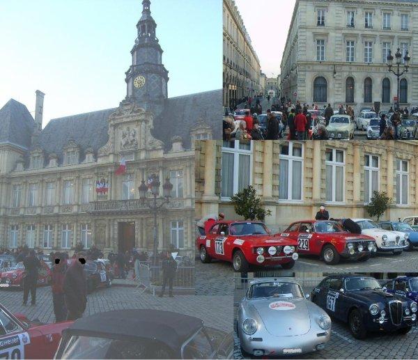 Rallye de Monte Carlo Historique Départ de Reims le 28/01/2011