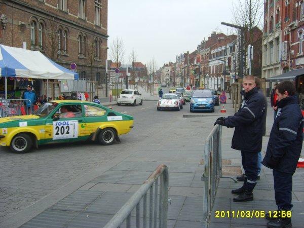 26 ème Rallye des Routes du Nord Armentières 4,5 et 6 mars 2011