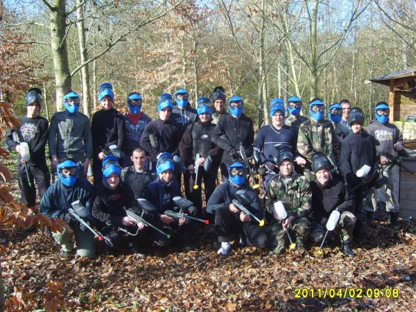 Paintball de la section APS le 2 avril 2011