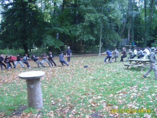 Journée d'intégration de la Section AS à Menois le 10/10/2011