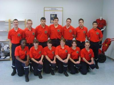 Section AS 2011-2012         Présentation en tenues professionnelles