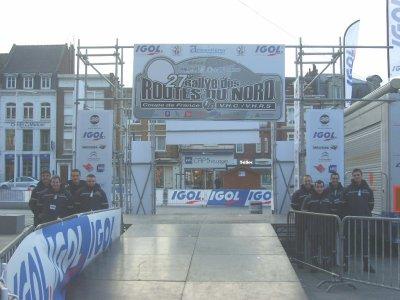 Rallye du Nord à Armentières Février 2012