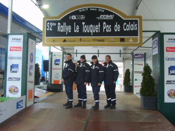 52 ème Rallye du Touquet Pas de Calais Mars 2012
