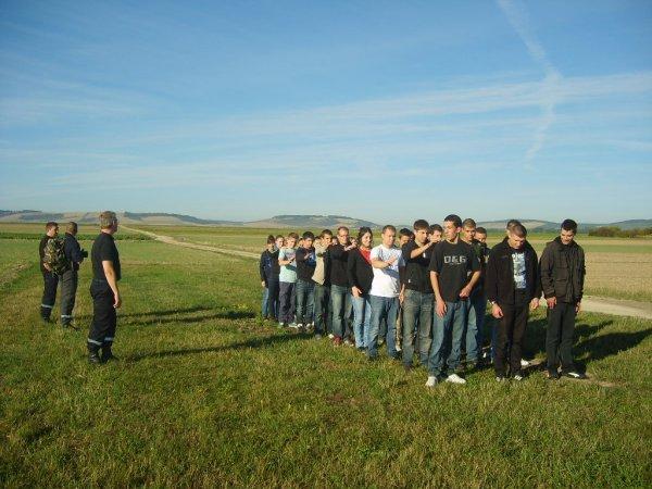 Journée d'intégration du 1er octobre 2012 de la section des 1AS