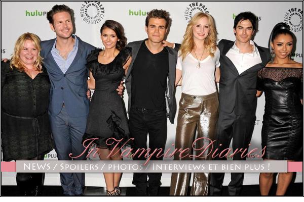 . Bienvenue sur InVampireDiaries !Ta toute nouvelle source sur les Vampires de Mystic Falls. .