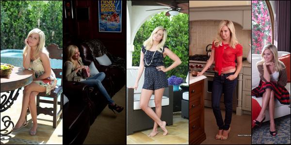 ** ??/??/2010 : Photoshoot de David Mushegain prit pour le « Instyle Magazine ». La photo d'Ashley avec Mikayla Dawn est magnifique !  $)
