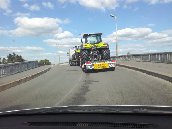 convoi tracteur