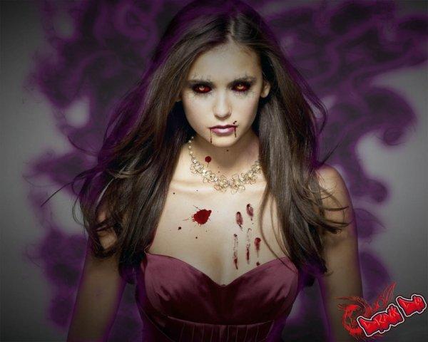 Jadore cette photo g surtou hatte de voir la saison 4 pour voir commen elena va réagigire en aprenen kel est devenu vampires en tou  ka sa sera plu simple pour stefen est demon