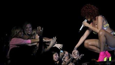 Rihanna à Détroit