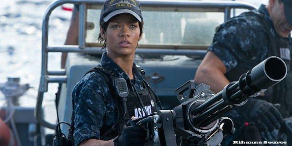 Rihanna parle de Battleship
