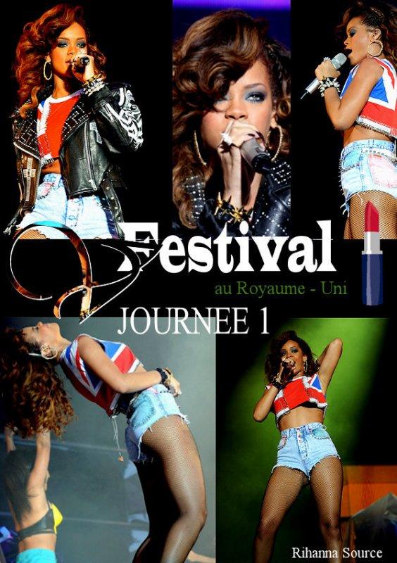 Rihanna au V festival