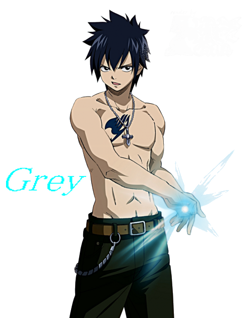 Grey :