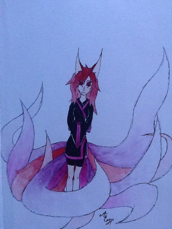 Femme Kitsune made by me
