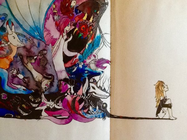 Dernier dessin d'un de mes carnets