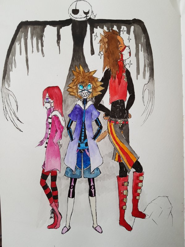 Kingdom Hearts/Undertale Part1