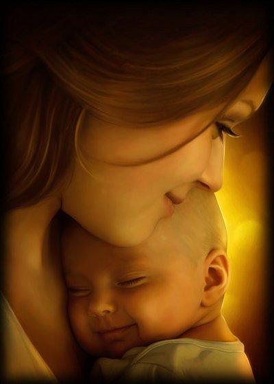 Une mère, vois-tu, c'est là l'unique femme qui nous aime toujours,  À qui le ciel ait mis assez d'amour dans l'âme pour chacun de nos jours. ( Antoine De Latour )