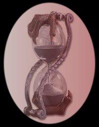 Tel un sablier, la vie s'écoule et le temps perdu est du temps inachevé...  (Maxalexis)