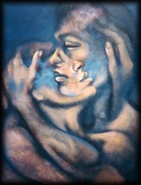L'amour, c'est l'absolu, c'est l'infini ;  la vie, c'est le relatif et le limité.  De là tous les secrets et profonds déchirements de l'homme quand l'amour s'introduit dans la vie.  Elle n'est pas assez grande pour le contenir.  (Victor Hugo)